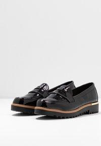 New Look - KETTLE - Mocassins - black - 4