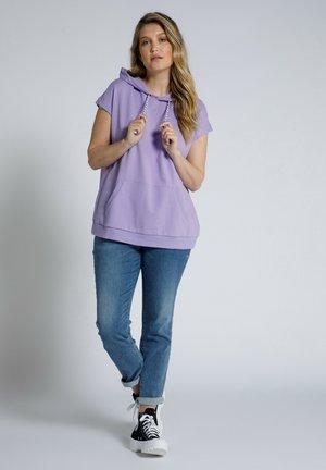 Print T-shirt - blaues flieder
