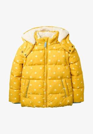 KUSCHELIGE 2-IN-1-JACKE MIT WATTIERUNG - Winter jacket - honiggelb, geometrisches blumenmuster