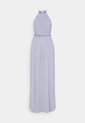 HEAVENLY BEADED GOWN - Iltapuku - dusty blue