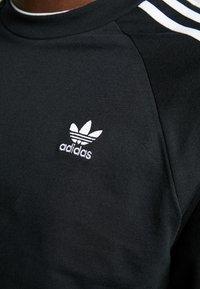 adidas Originals - 3 STRIPES UNISEX - Pitkähihainen paita - black - 5