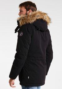 Napapijri - SKIDOO OPEN LONG - Zimní kabát - black - 2