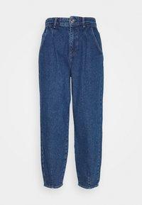ONLY - ONLVERNA BALLOON  - Relaxed fit jeans - dark blue denim - 4