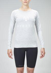 MOROTAI - Long sleeved top - light grey - 1