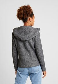 ONLY - ONLSEDONA LIGHT SHORT JACKET - Lett jakke - dark grey melange - 2