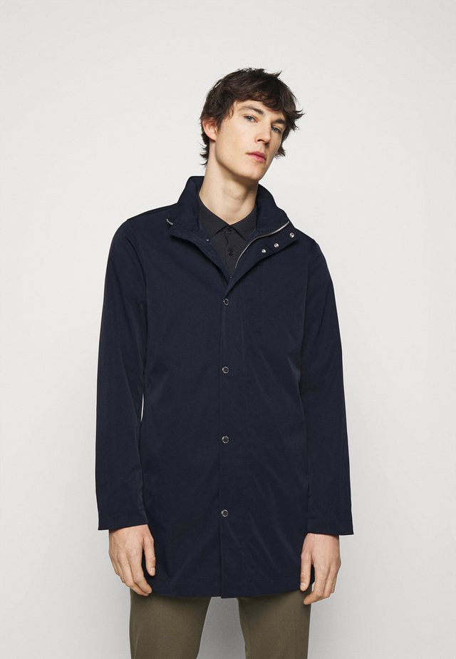 TERRY POLY STRETCH - Short coat - navy