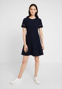 Tommy Hilfiger - ANGELA DRESS - Day dress - blue - 0