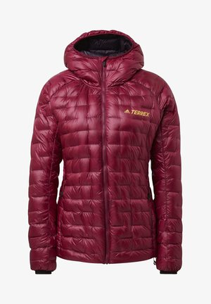 TERREX ICESKY HOODED DOWN JACKET - Daunenjacke - purple