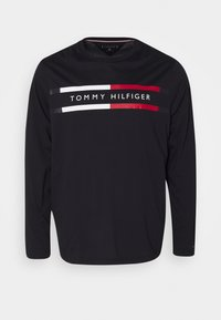 Tommy Hilfiger - CHEST STRIPE TEE - Long sleeved top - blue - 0