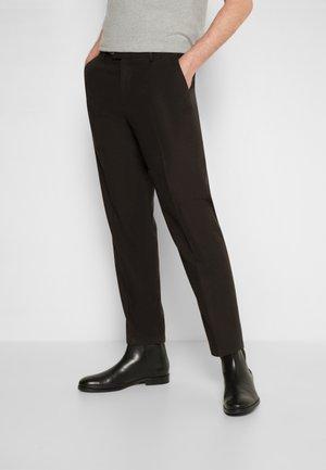COMO REG PANTS - Kalhoty - black