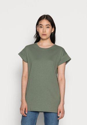 ALVA SEASONAL TEE - Basic T-shirt - agave green
