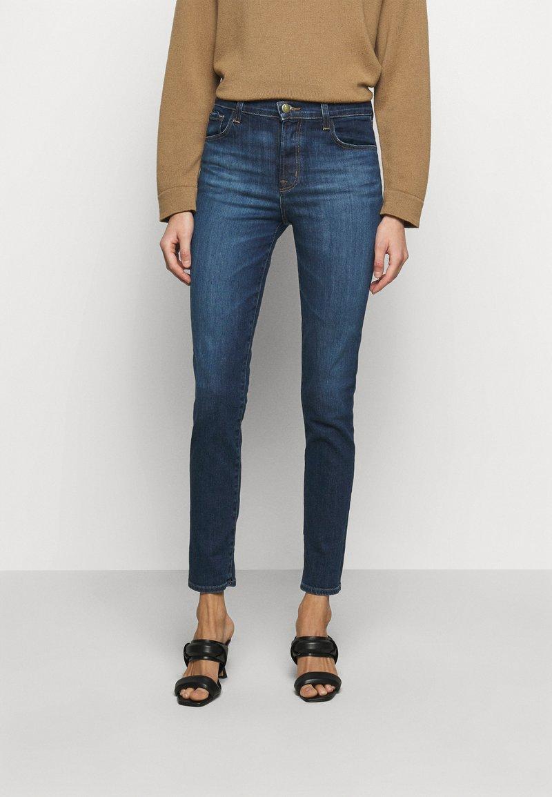 J Brand - HIGH RISE CROP CIGARETTE - Straight leg jeans - arcade