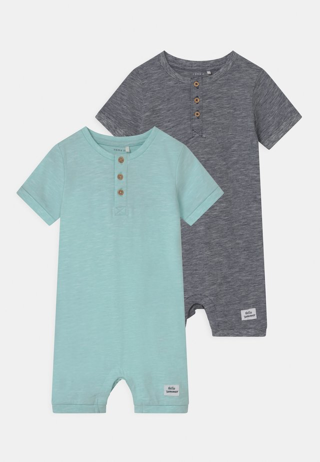 NBMHANNO 2 PACK - Overall / Jumpsuit /Buksedragter - blue tint