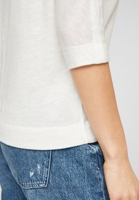 s.Oliver - MET 3/4-MOUWEN - Long sleeved top - offwhite - 6
