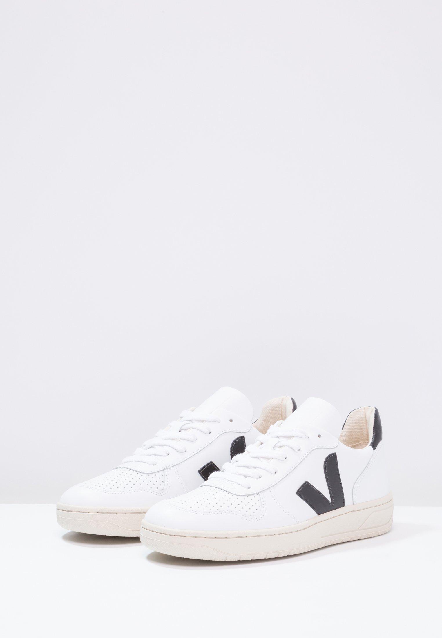 Veja V-10 - Joggesko - extra white/black