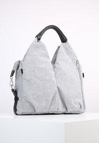 Lässig - NECKLINE BAG - Luiertas - black melange - 2