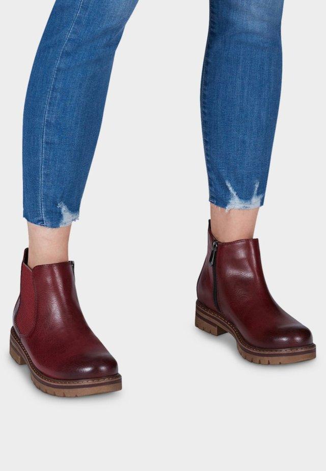 Korte laarzen - red