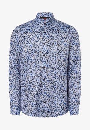 Shirt - hellblau taupe