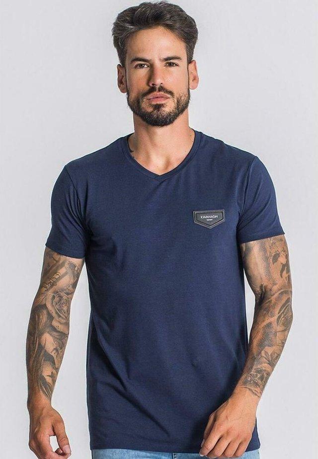 CORE - T-shirt imprimé - navy blue