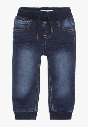 NBMROMEO PANT - Jeans baggy - dark blue denim