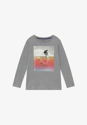 EDGAR - Langærmede T-shirts - grey marl
