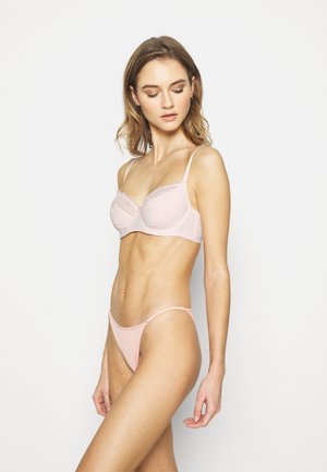 FAITH UNDERWIRE 2 PACK - Bøjle-bh'er - pink/nude
