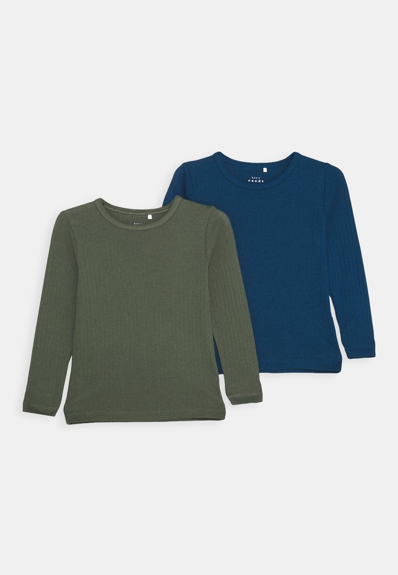 Name it - NKMVAY SLIM 2 PACK - Langærmede T-shirts - gibraltar sea