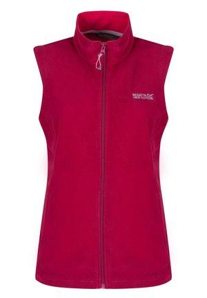 REGATTA SWEETNESS B/W II FLEECE WESTE DAMEN DKCER(DUCH) 34 - Waistcoat - red