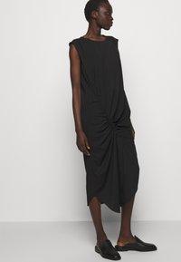 DESIGNERS REMIX - VALERIE SHOULDER DRESS - Day dress - black - 5