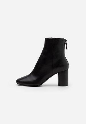 Korte laarzen - noir