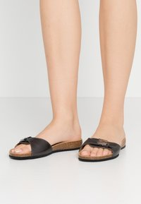 Scholl - BAHAMAIS - Slippers - noir - 0