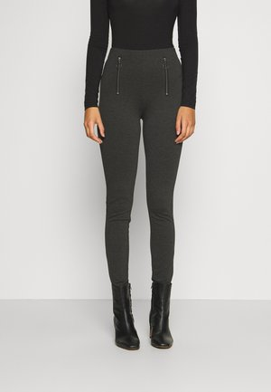 BYTANYA LEGGINGS - - Leggings - Trousers - dark grey
