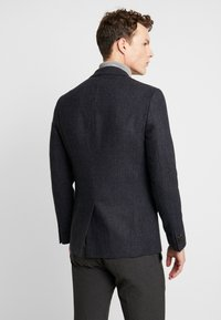 Burton Menswear London - RUST CHECK - Blazere - navy - 2
