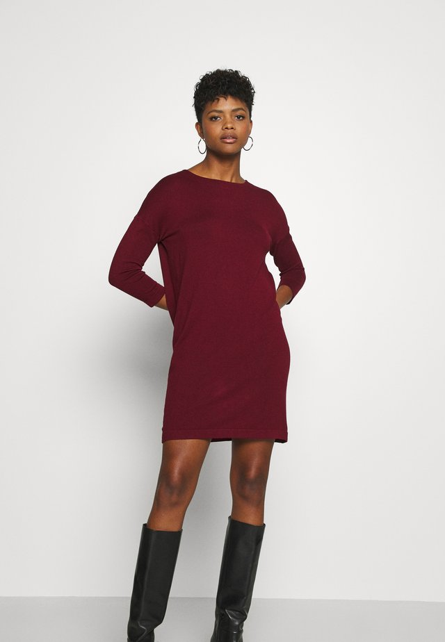VMGLORY VIPE AURA DRESS - Jumper dress - cabernet