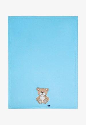 Baby blanket - blue bear