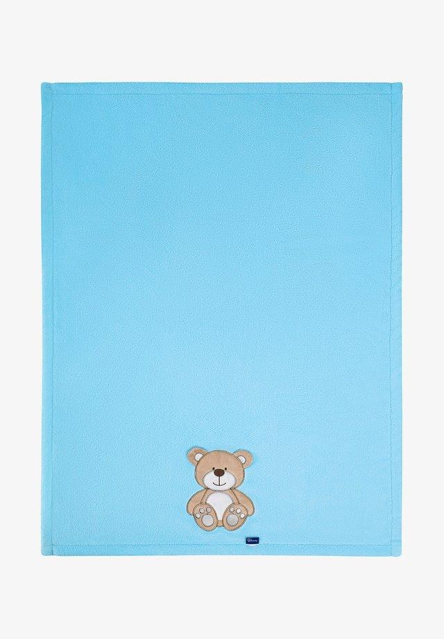 Manta de bebé - blue bear