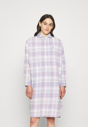LONG SLEEVE DAY DRESS - Abito a camicia - pink/blue multi