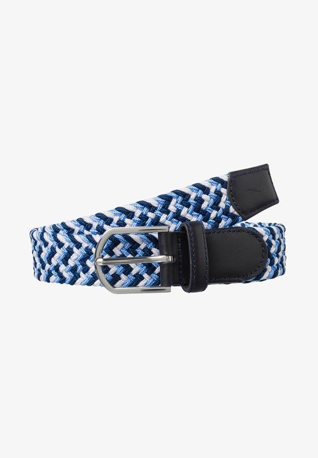STYLE CEINTURE POUR FEMME - Braided belt - navy