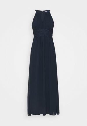 VIMILINA HALTERNECK DRESS - Společenské šaty - total eclipse