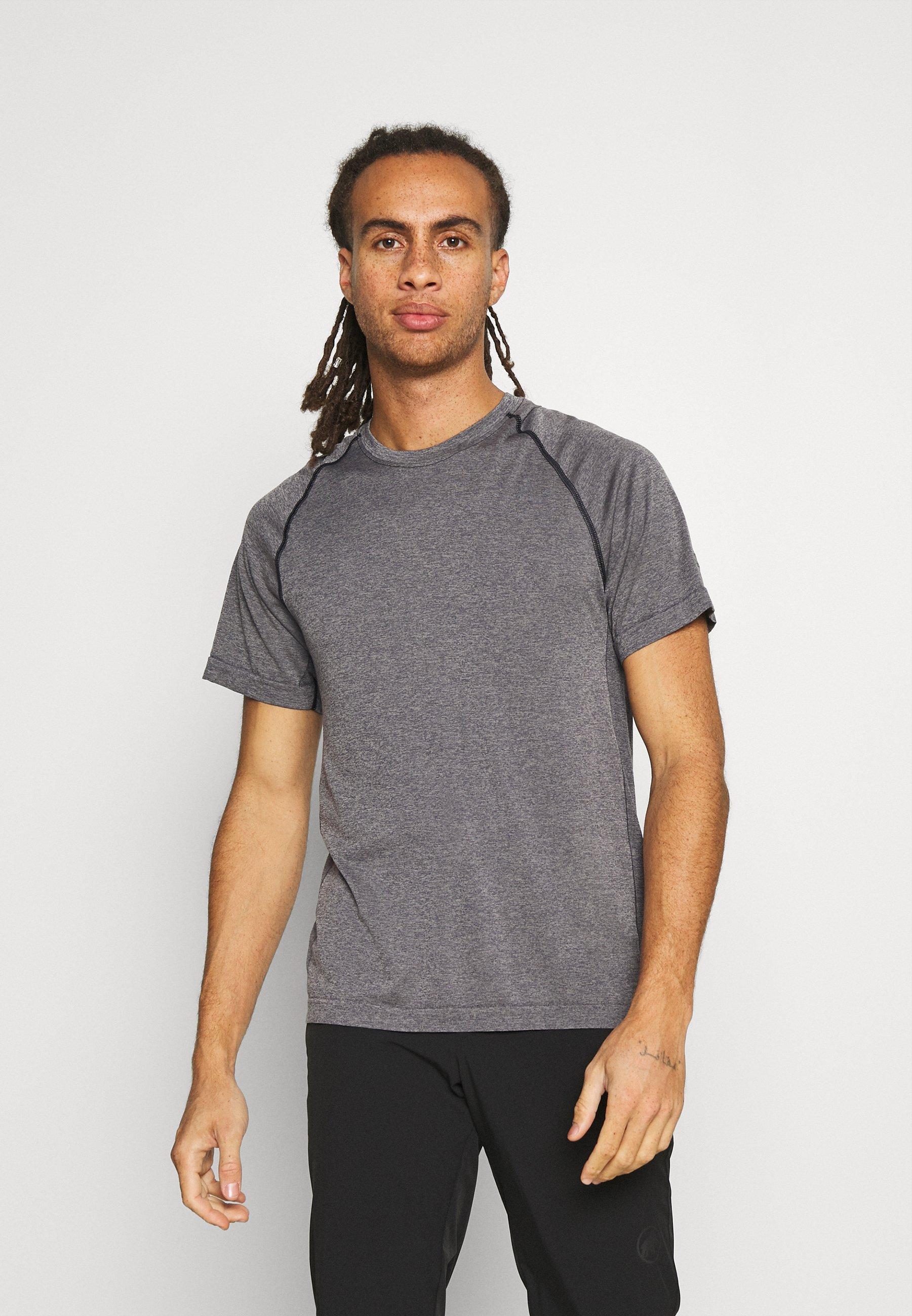 Men MOTION SEAMLESS CREWE - Print T-shirt