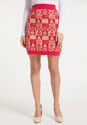 Pouzdrová sukně - rot