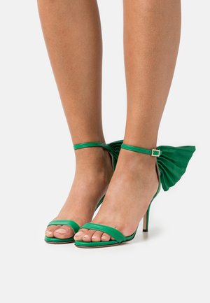 PALMA  - High heeled sandals - green