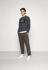 Afends - LIVELY ONES SUIT PANT - Trousers - silt - 1