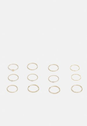 12 PACK - Ringar - gold-coloured