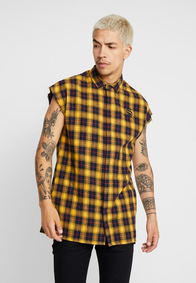 SLEEVELESS - Shirt - yellow