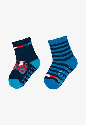 ABS ANTIRUTSCH SOCKEN DOPPELPACK BAGGER - Socks - dark blue
