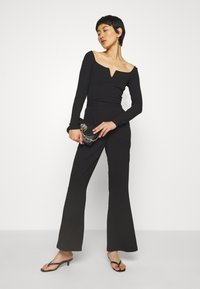 Mossman - THE FLAWLESS PANT - Trousers - black - 1