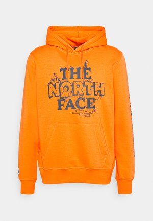 HIMALAYAN BOTTLE SOURCE HOODIE - Felpa con cappuccio - orange