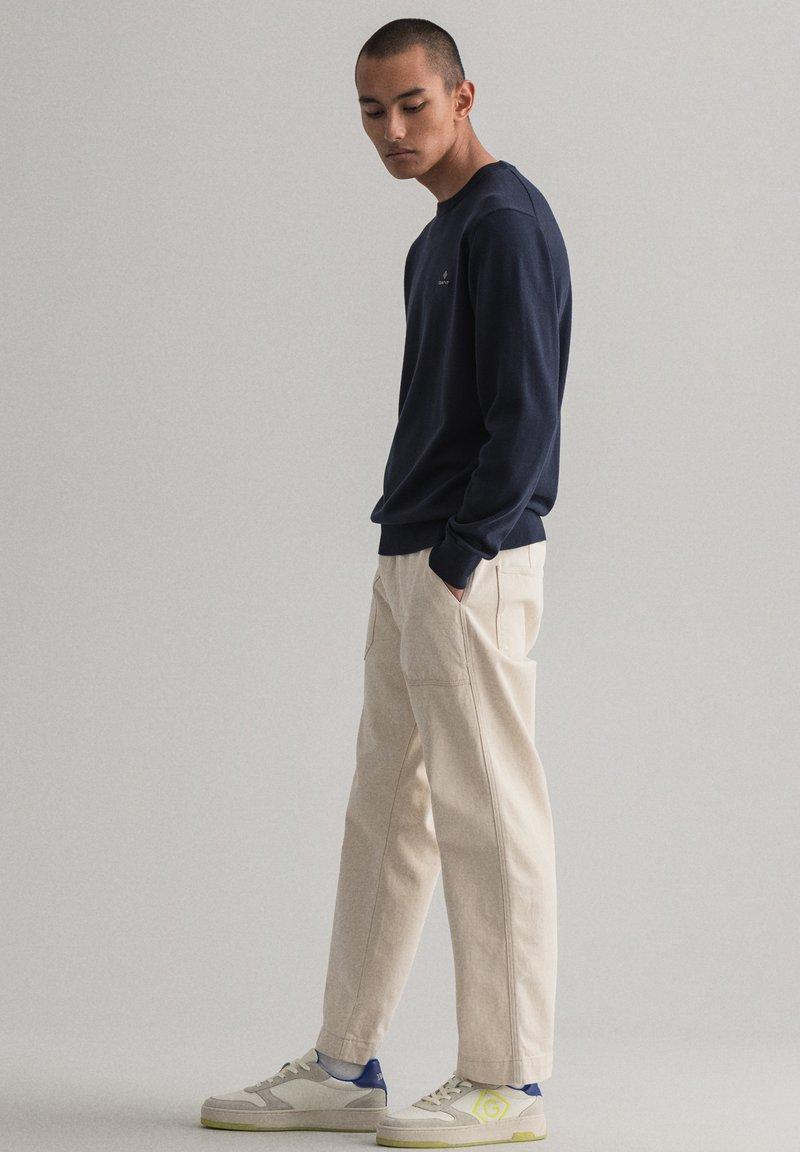 GANT - Stickad tröja - evening blue