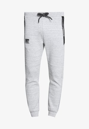 GYMTECH - Tracksuit bottoms - light grey marl